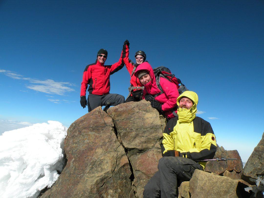 summit Iliniza Norte