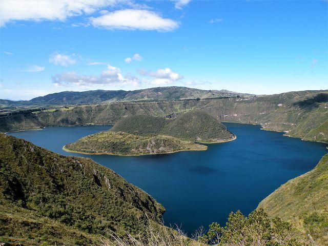 lagoons of Cuicocha